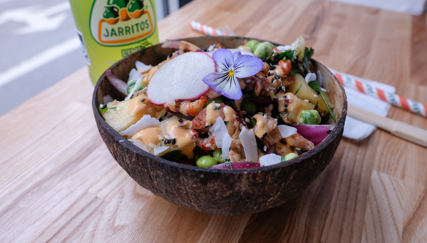 Poke Bowls, Aloha: Mahalo væltede os omkuld med den hawaiianske skål