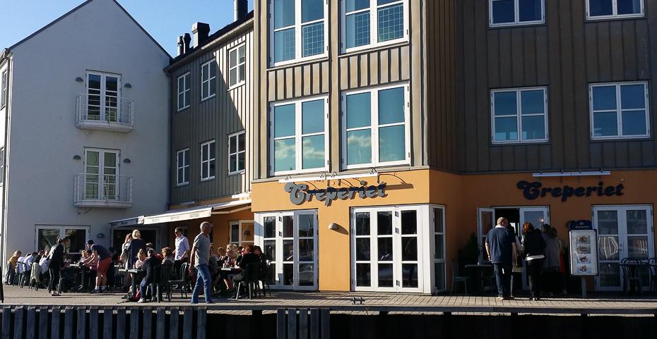 Creperiet på Marselisborg Havn i Aarhus