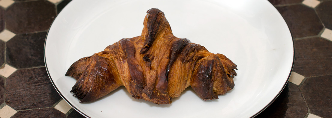 Croissant i Deli'en i Jægergårdsgade