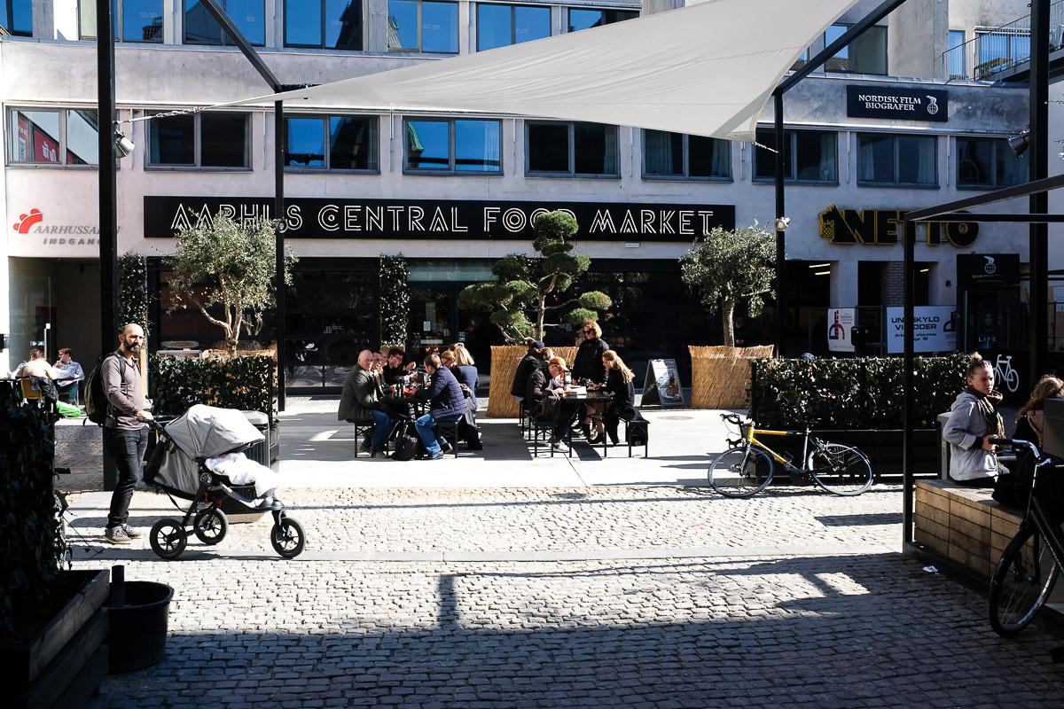 Skt. Knuds Torv - Aarhus Central Food Market