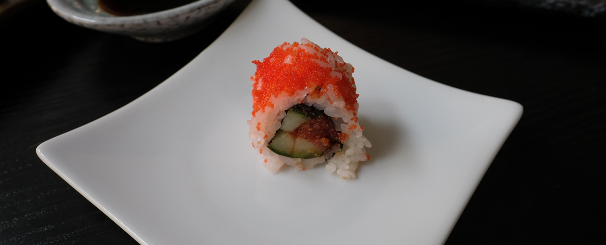 Frisk sushi for 198 kroner - et sandt sushi-orgie