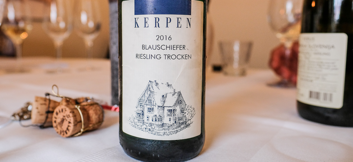 Weingut Kerpen - Blauschiefer - Tjek Vinen