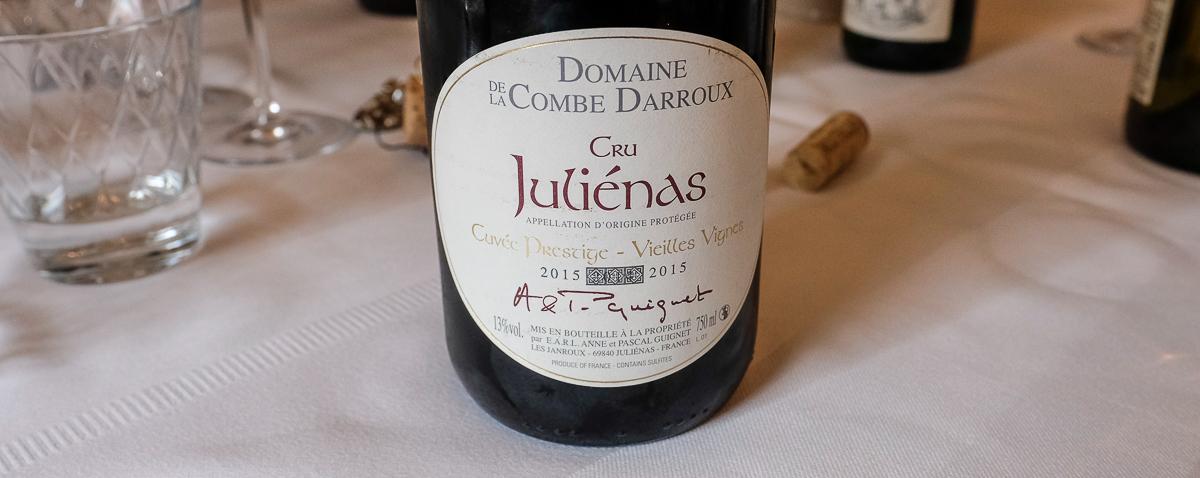 Domaine de la Combe Darroux - Tjek Vinen