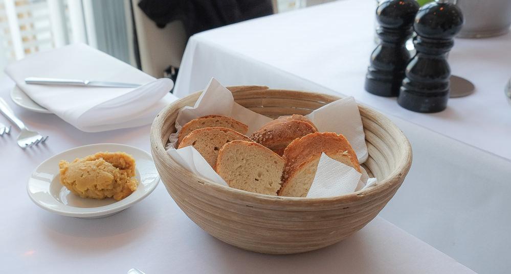 Dagens brød på Restaurant Fedet i Risskov