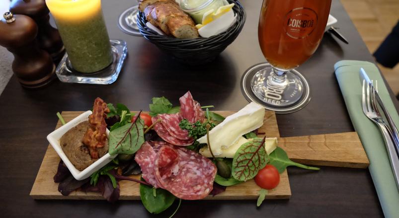 Dagens frokostbræt på Krofatter's mad- og ølbar