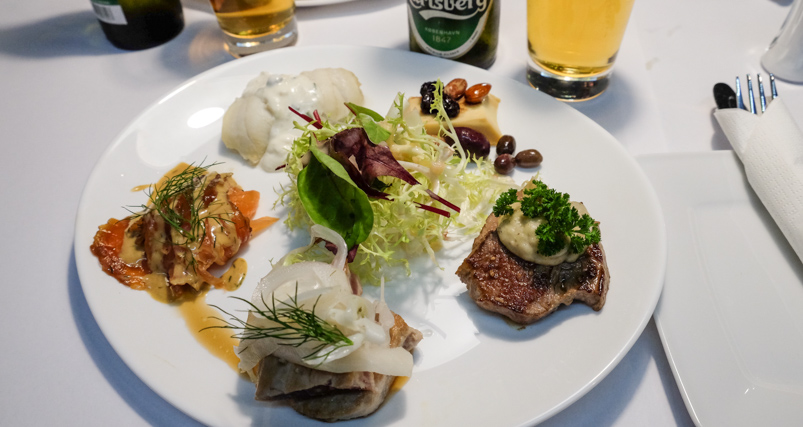 Dagens frokostplatte hos City Café i Aarhus_