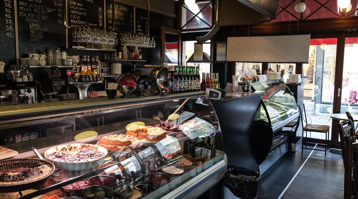 Dagens kage på Café Underground i Aarhus