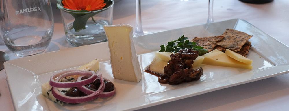 Dagens ost på Restaurant Fedet i Risskov