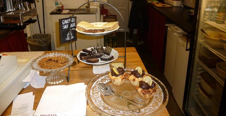 Dagens søde element på Café Ganefryd i Latinerkvarteret