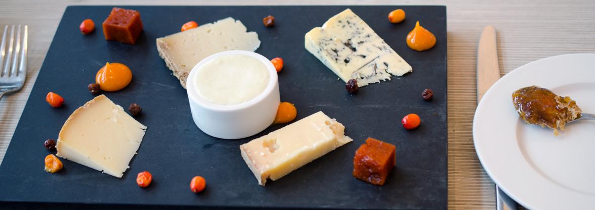 Danske oste på Art Restaurant