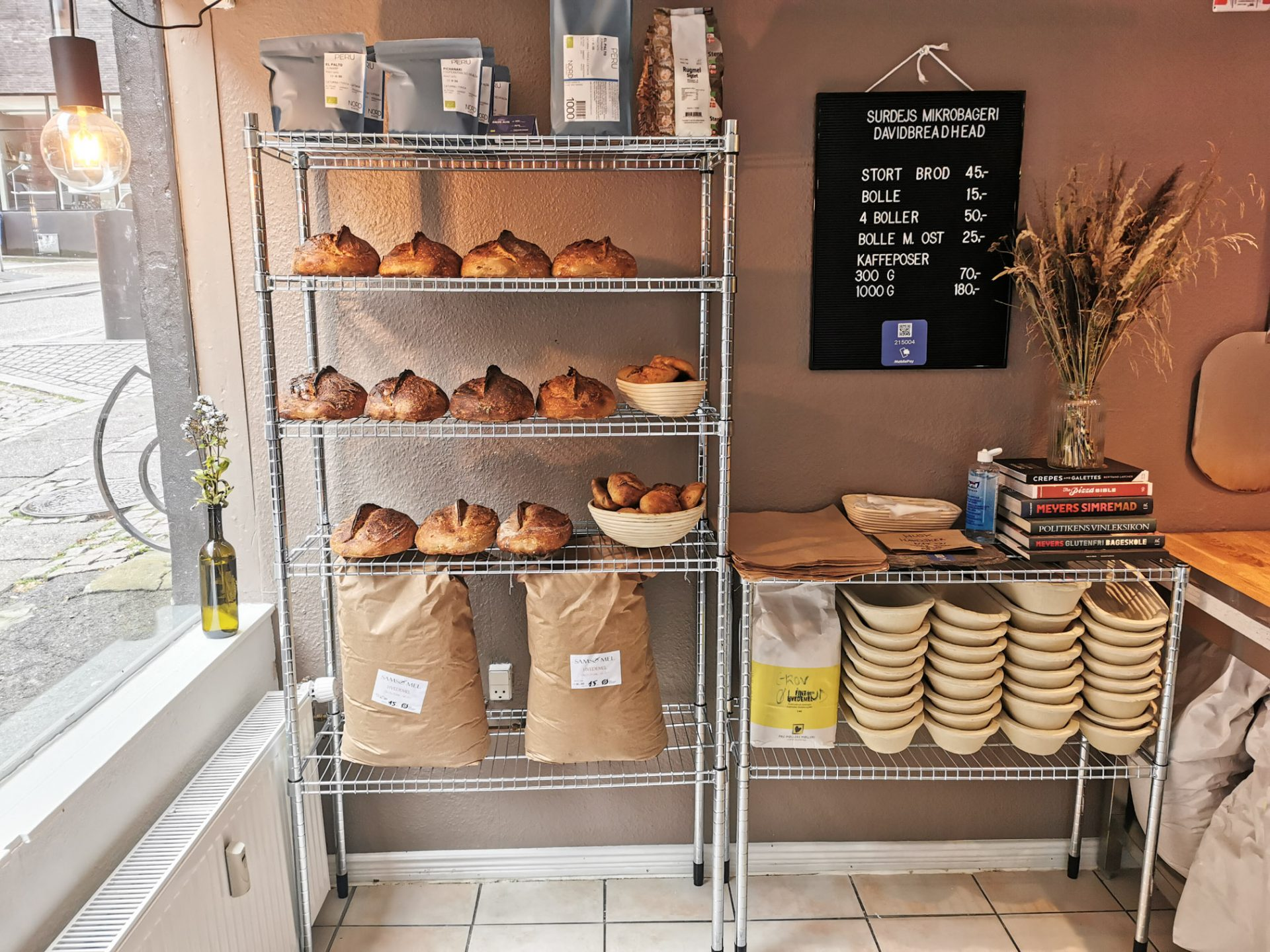 Davidbreadhead Baking Studio: Ny cool mikrobager vil bage Aarhus´ bedste brød