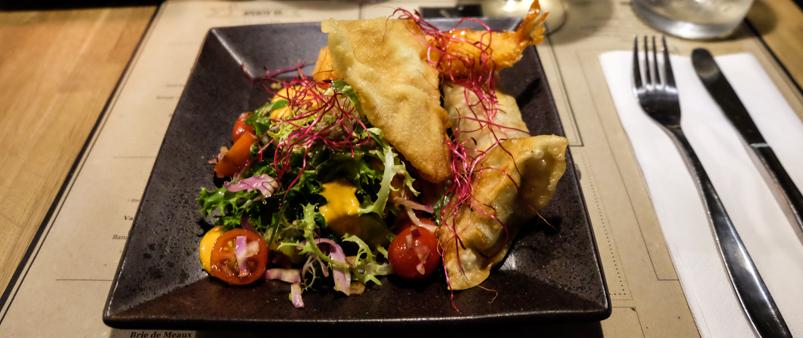 De fire sprøde på CLEMENS Gastro & Bar