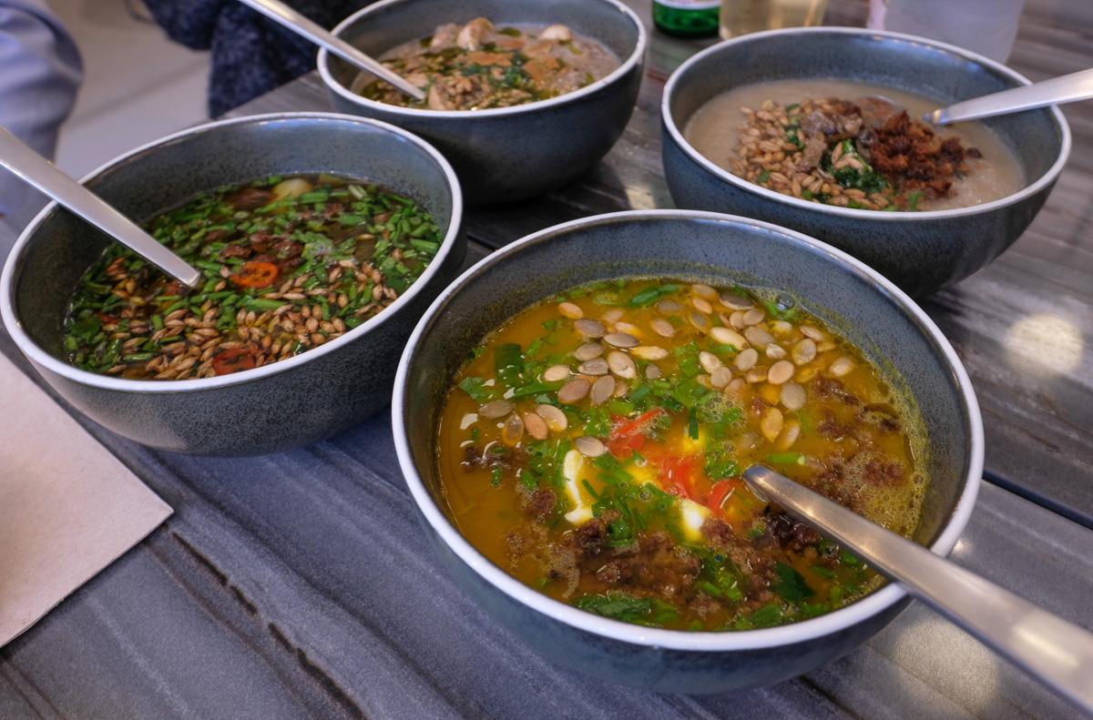Hyggelige Soup Nerds: Når en suppe bliver et spørgsmål om ære og omhu