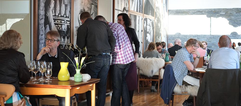 De første gæster er ankommet - Kählers Villa Dining