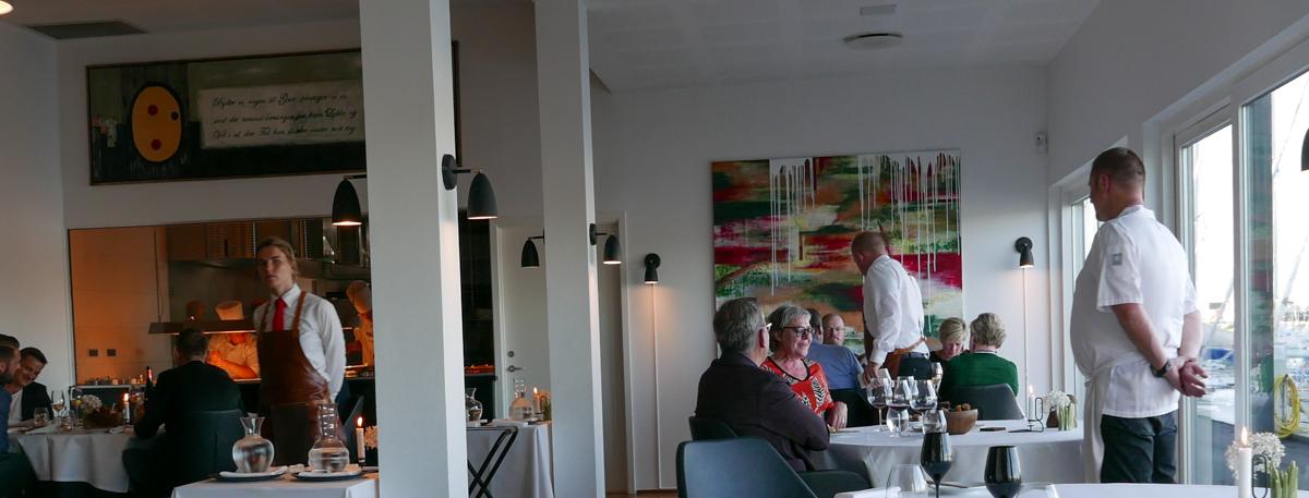 De første gæster hos Restaurant Koch