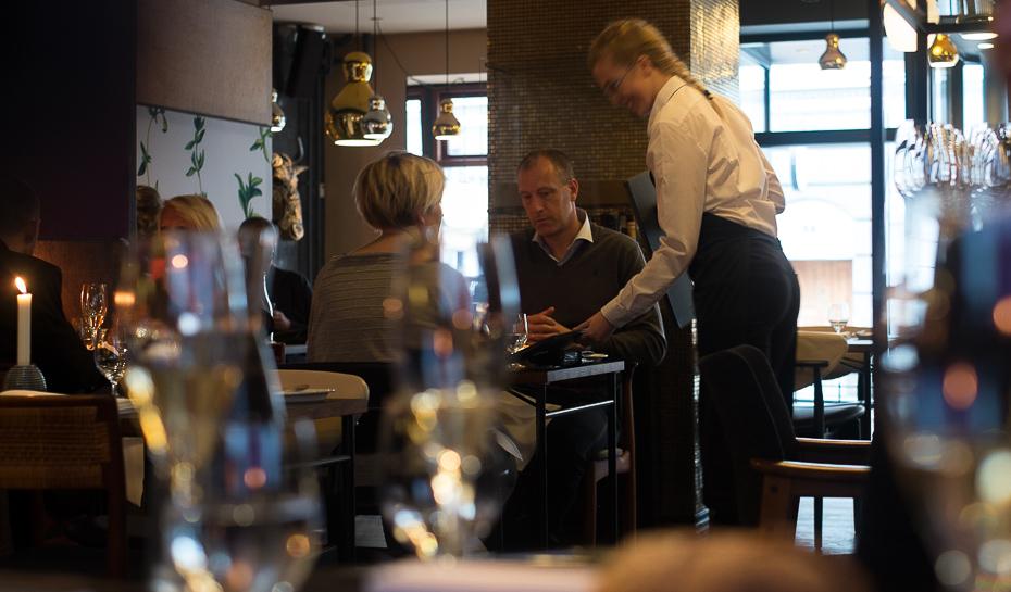 De første gæster på Nordisk Spisehus