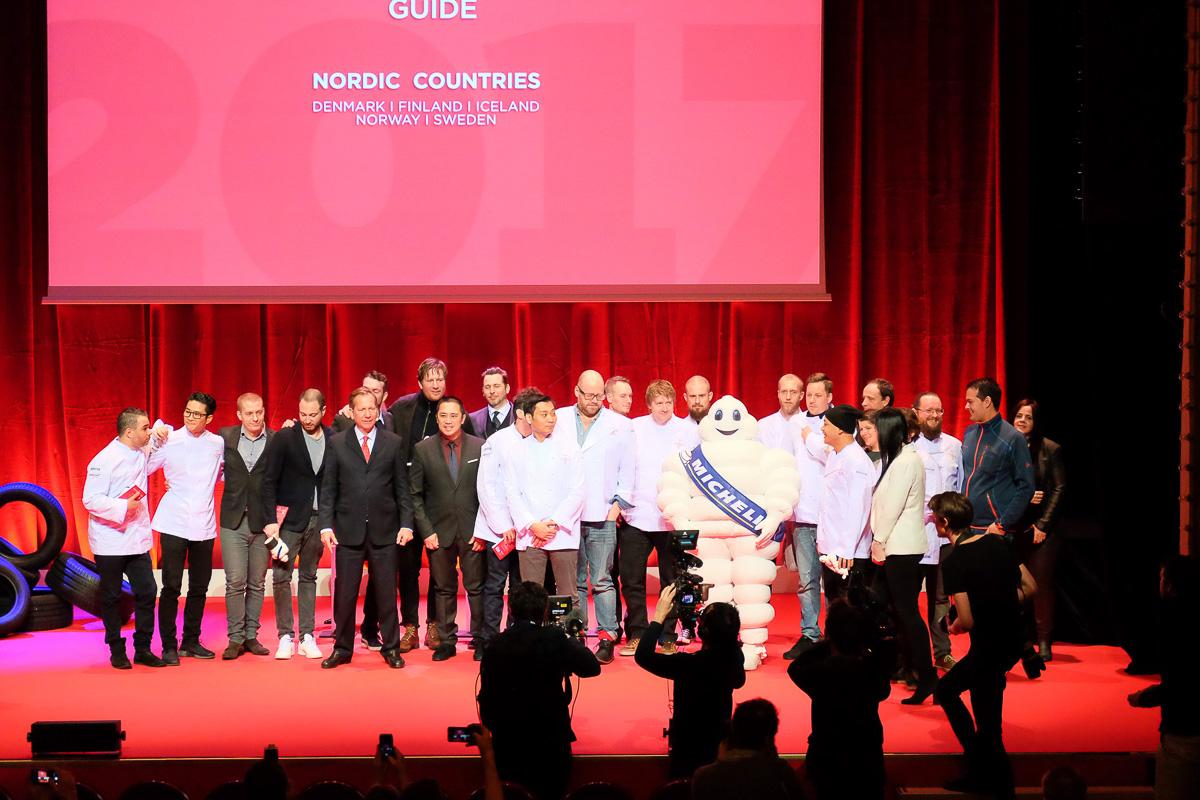 Den gastronomiske udvikling: Stor Michelin-event på Aarhus Rådhus