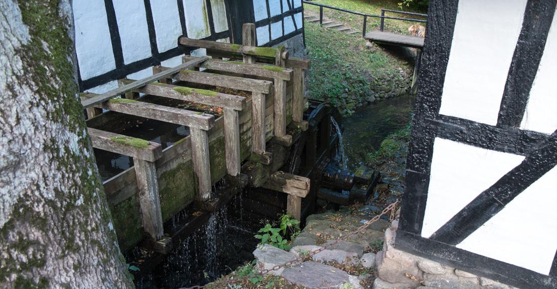 Den gamle vandmølle