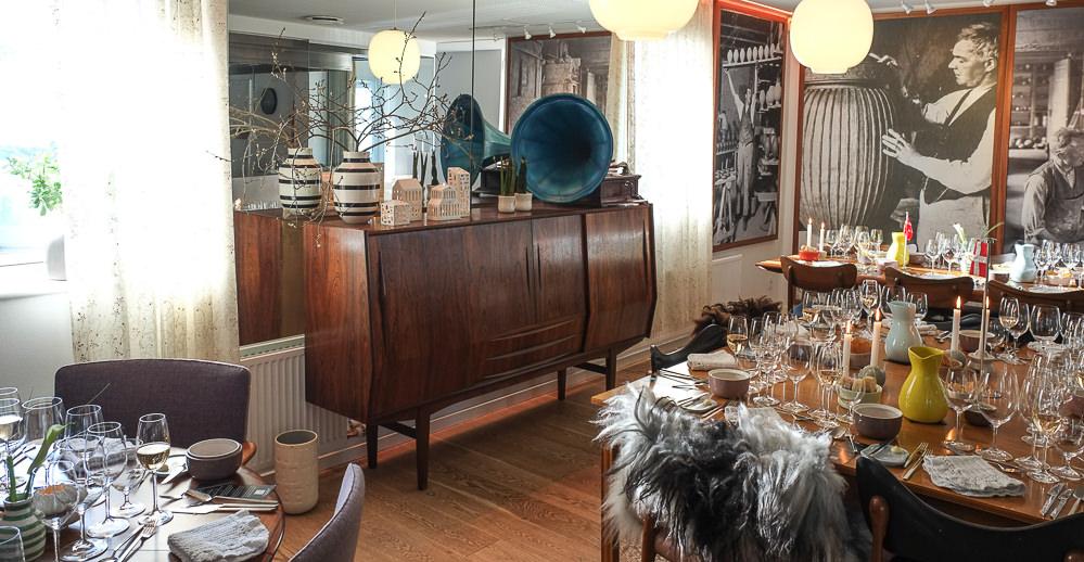 Den lille stue hos Kählers Villa Dining