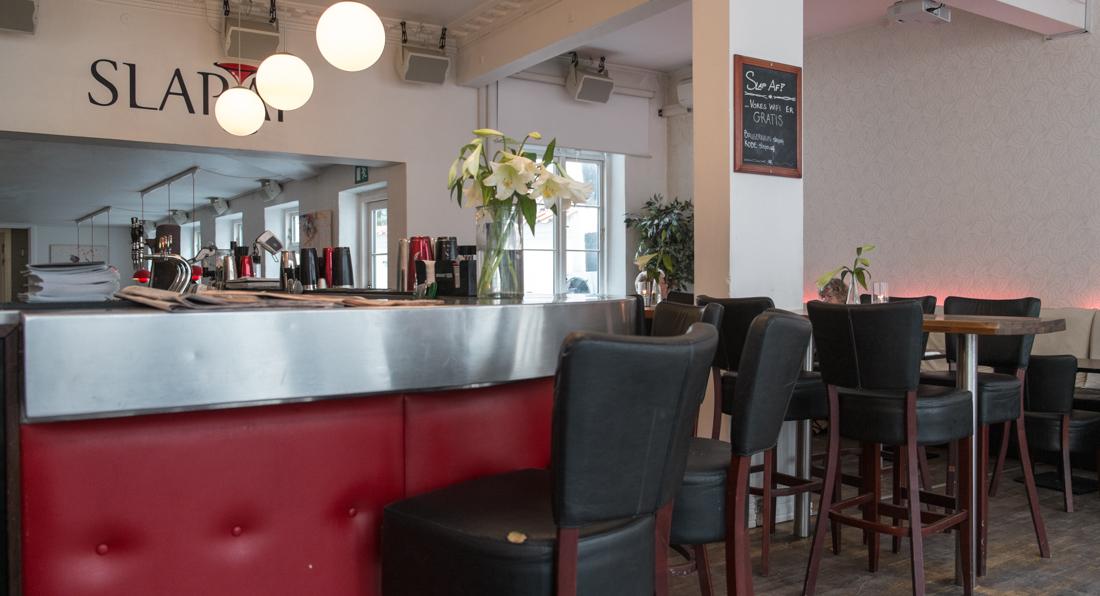 Den røde læderbar på SLAP AF i Aarhus