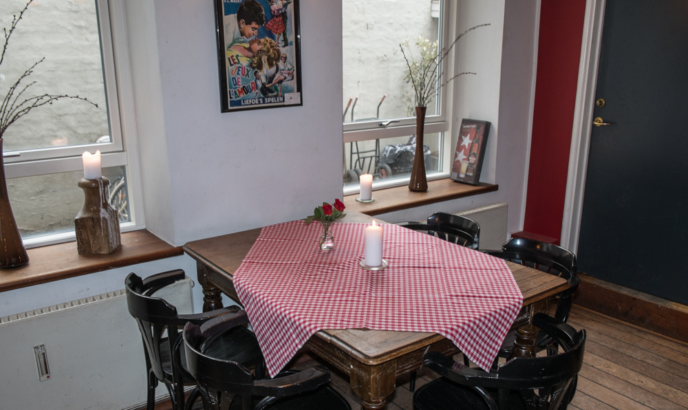 Der er nok plads på her bord  - Restaurant Europa i Aarhus