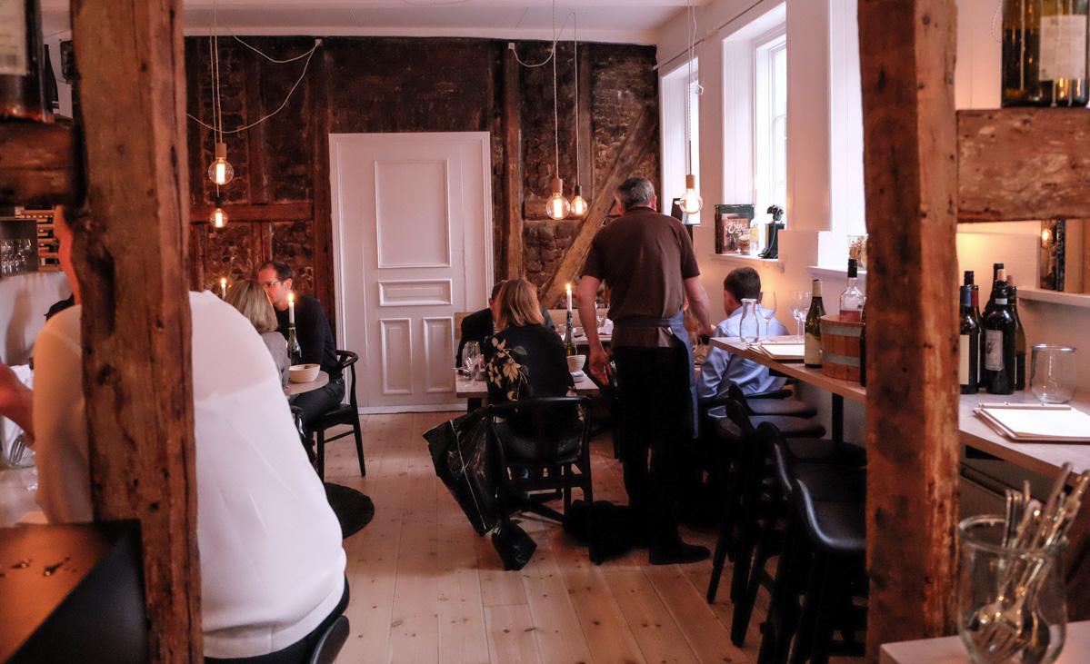 Der var fuld hus i Vinbaren, AU Vestergade i Aarhus