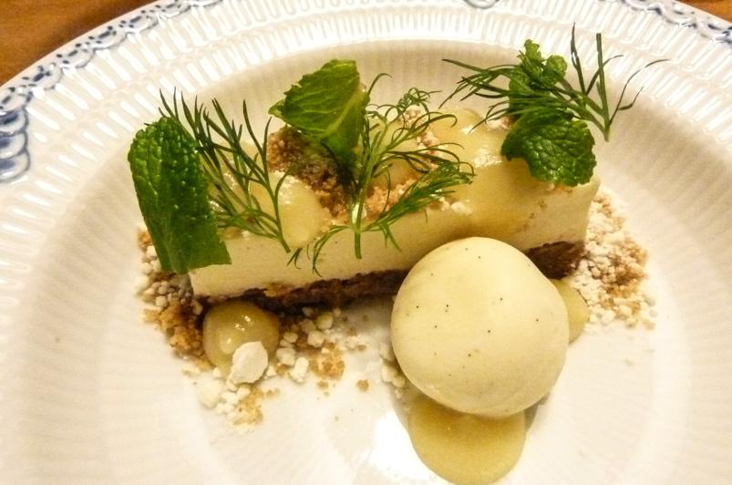 Desserten hos Langhoff & Juul
