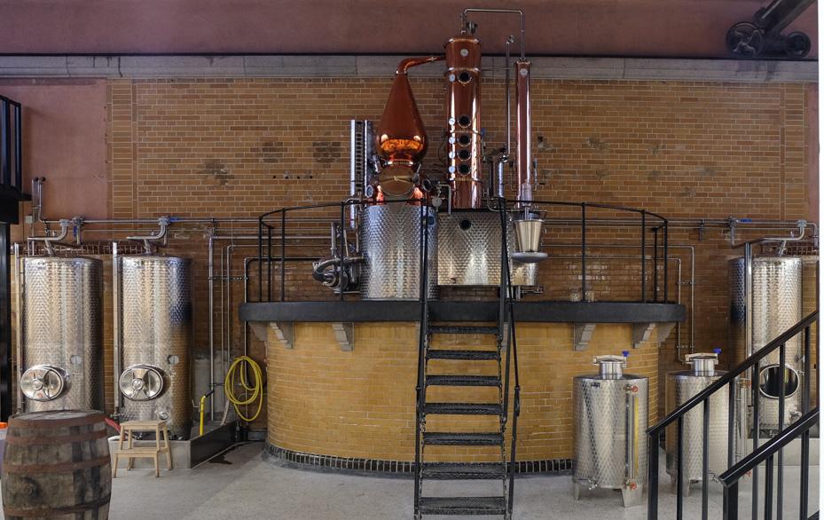 Det her er kunst - Njord Gin Distillery
