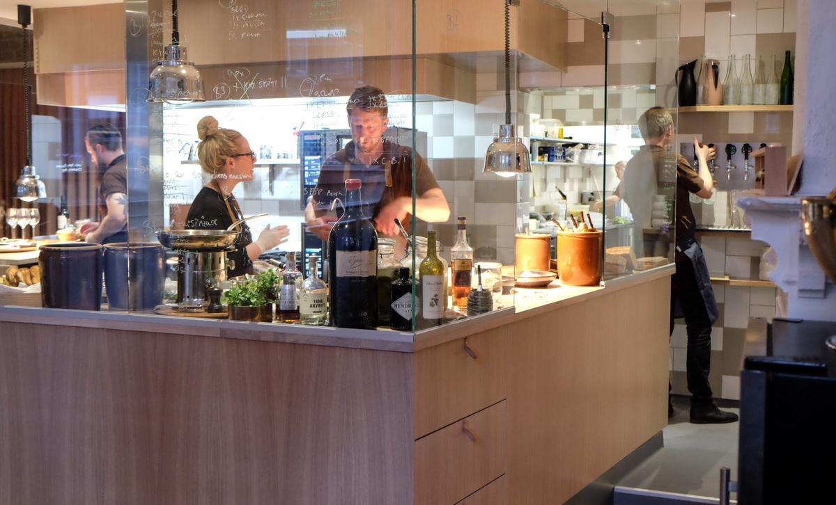 Det lukkede køkken - Vinbaren, AU Vestergade i Aarhus