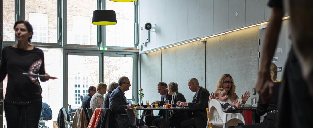 Det rå lokale hos Aarhus Folkekøkken på Godsbanen