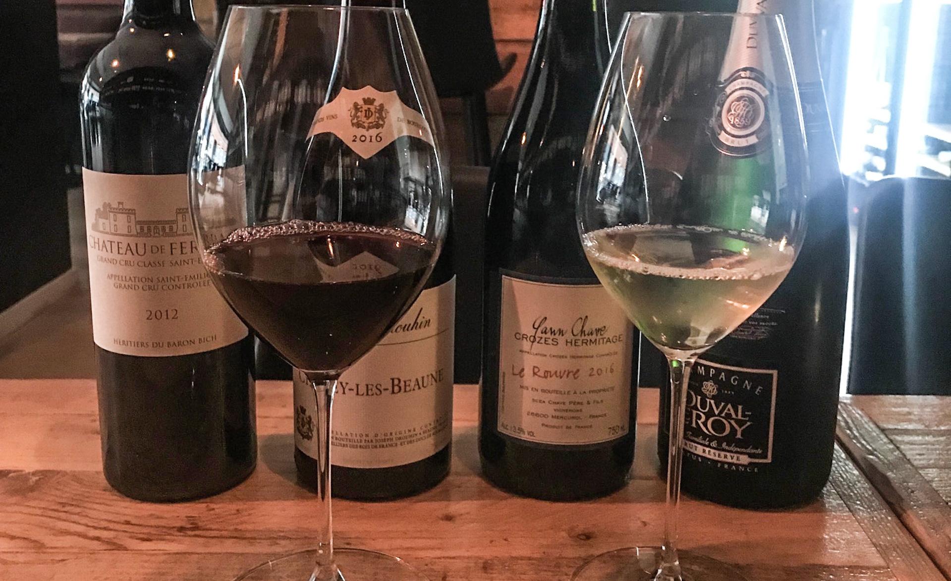 Din Vinbar: Vinsmagning på franske klassikere fra Champagne, Bourgogne og Saint-Emilion