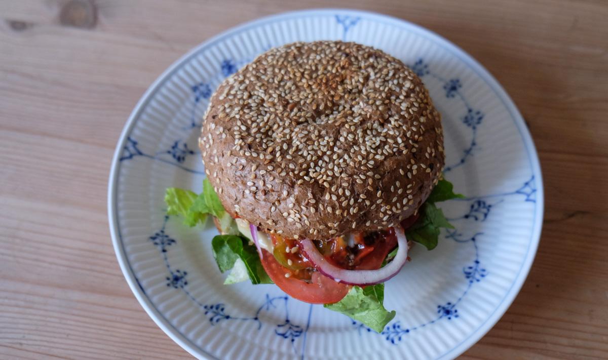 Don Mex Burger fra Byens Burger