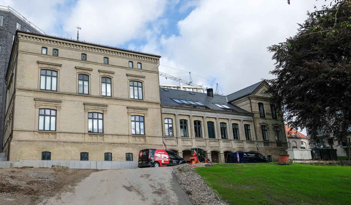 En af de 3 indgange til MALT i Aarhus - Aarhus Update