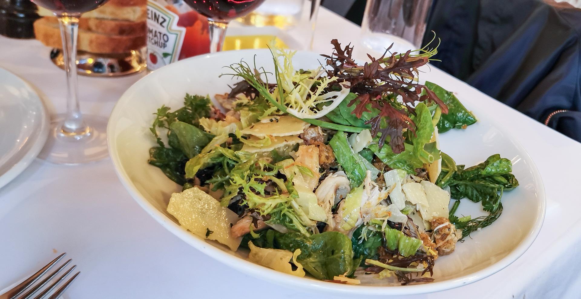 Anmeldelse af Café Englen: Stemningen var intakt - mens maden var på det jævne