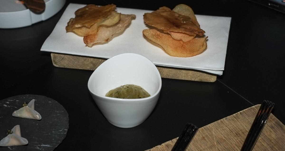 En del af en snack-servering på Nordisk Spisehus