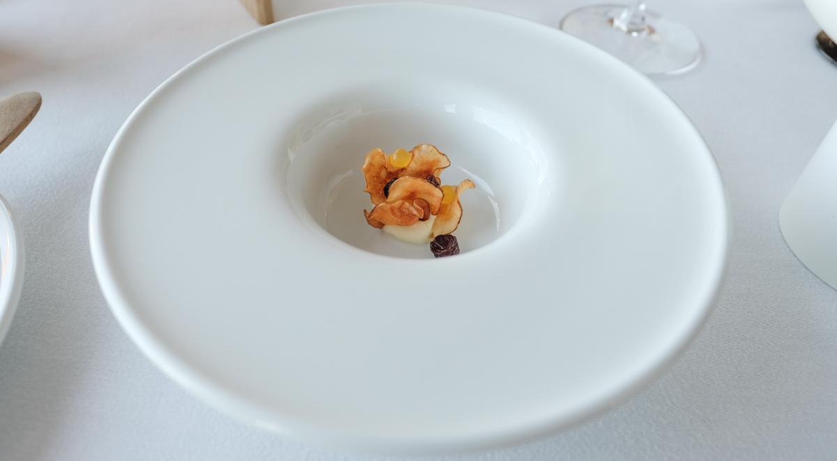 En hapser hos Restaurant Koch