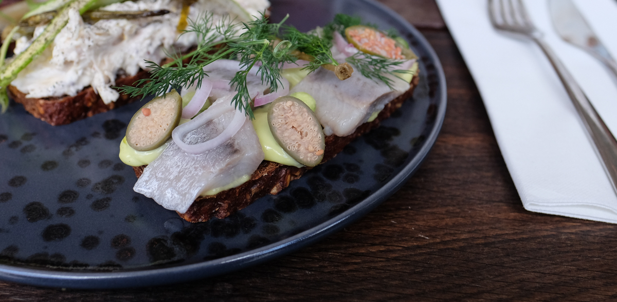 En lækker sild hos Kähler Spisesalon - Aarhus Update