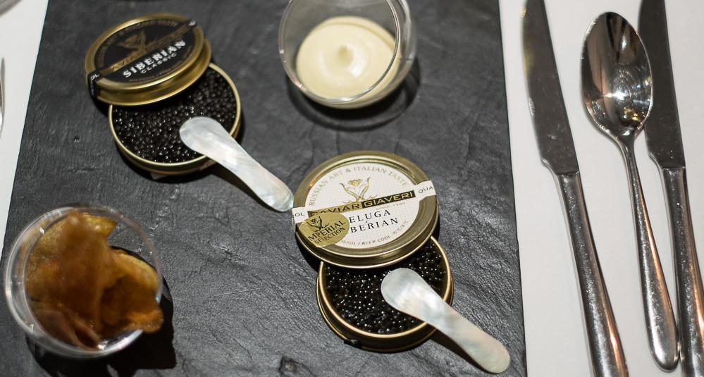 En omgang kaviar på Miró i Aarhus