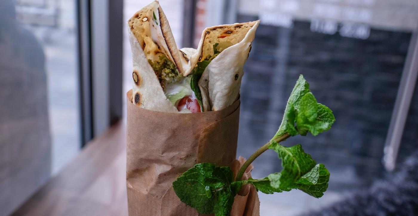 En vinder-falafel: Ude er godt, men hjemme er bedst
