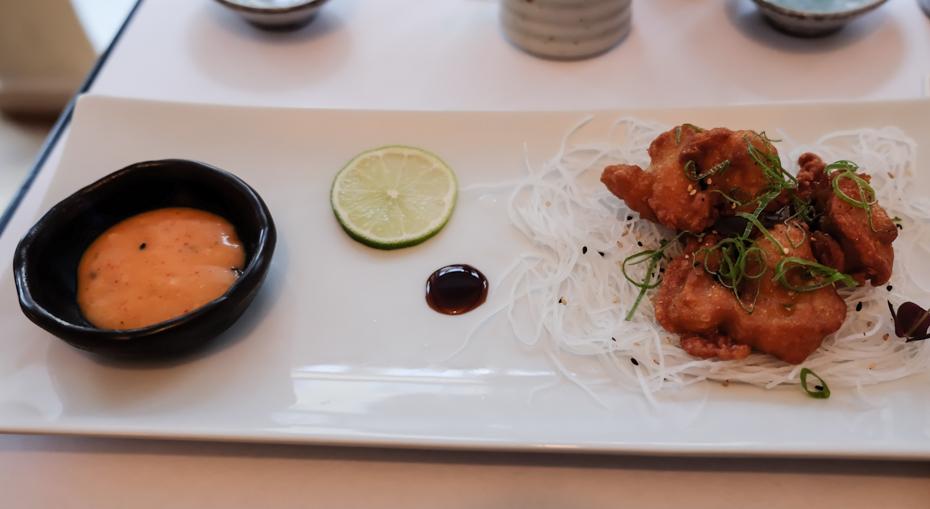Endnu en lille forret hos A+ Siam Sushi i Skolegade
