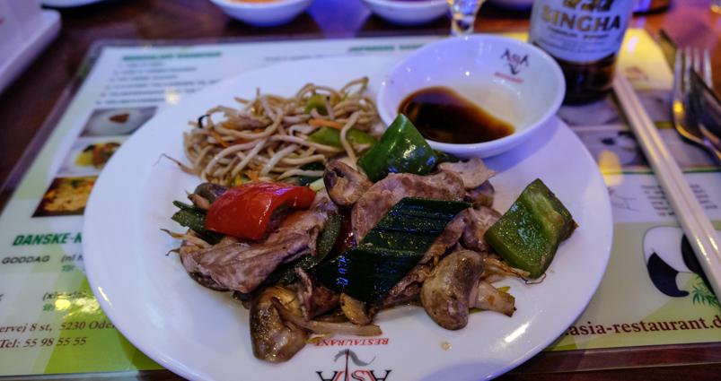 Endnu mere mad på Asia Restaurant i Viby