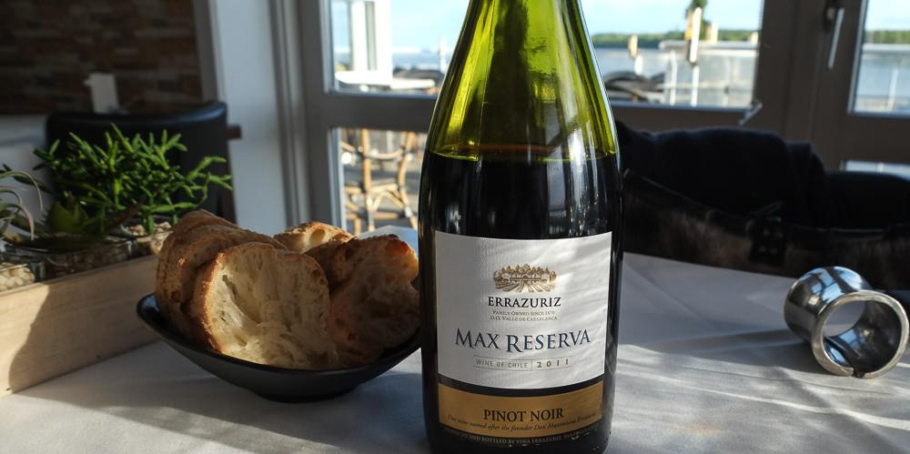 Errazuriz, Pinot Noir Max Reserva fra 2011 - Restaurant Martino_