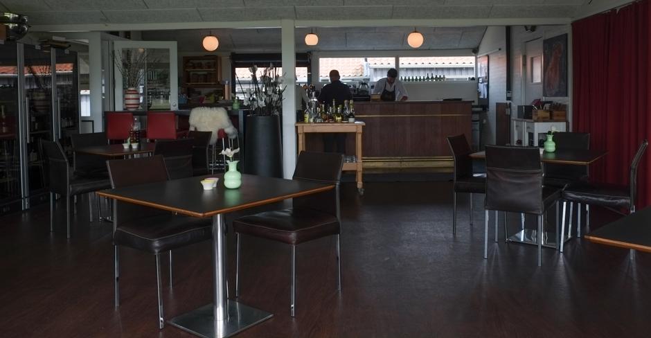 Et kig ind i restauranten hos Unico i Højbjerg