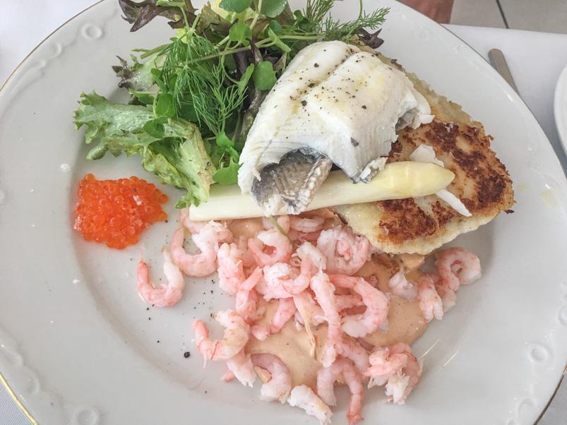 Et stjerneskud på Restaurant Seafood
