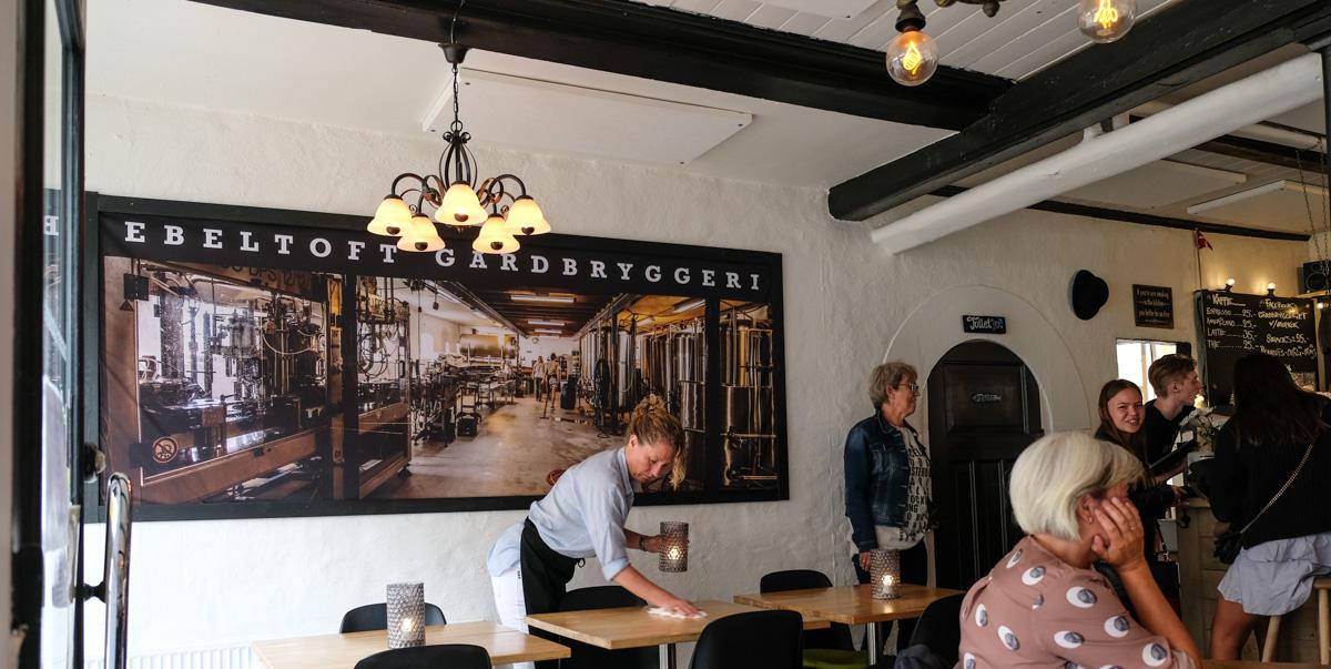 Et stort billede fra Ebeltoft Gårdbryggeri hos Gårdbryggeriet i Grenå - Aarhus Update