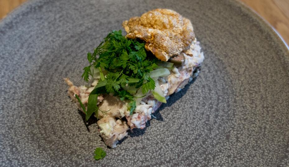 Et stykke med høns og and fra F. Høj_