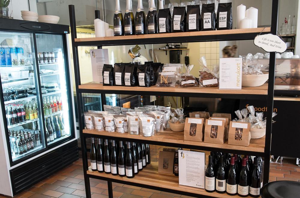Et udsnit af udvalget hos Foodfein i Aarhus