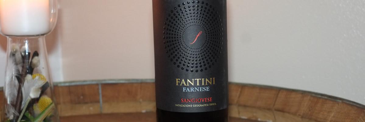 Fantini Sangiovese, Terre di Chieti fra regionen Abruzzo på Nordens Folkekøkken i Jægergårdsdage