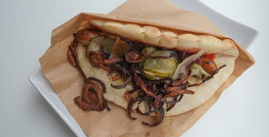 Festuge hotdog hos Festugegrillerier