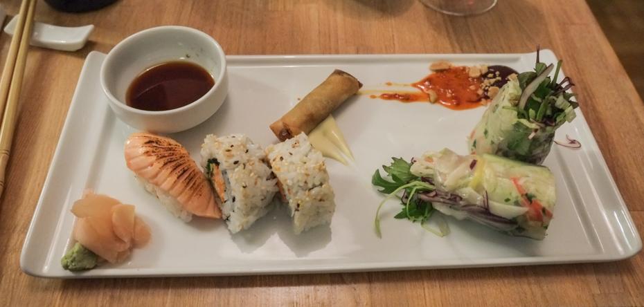 Fin lille(stor) appetizer på Vietnamesiske KJ Minh_